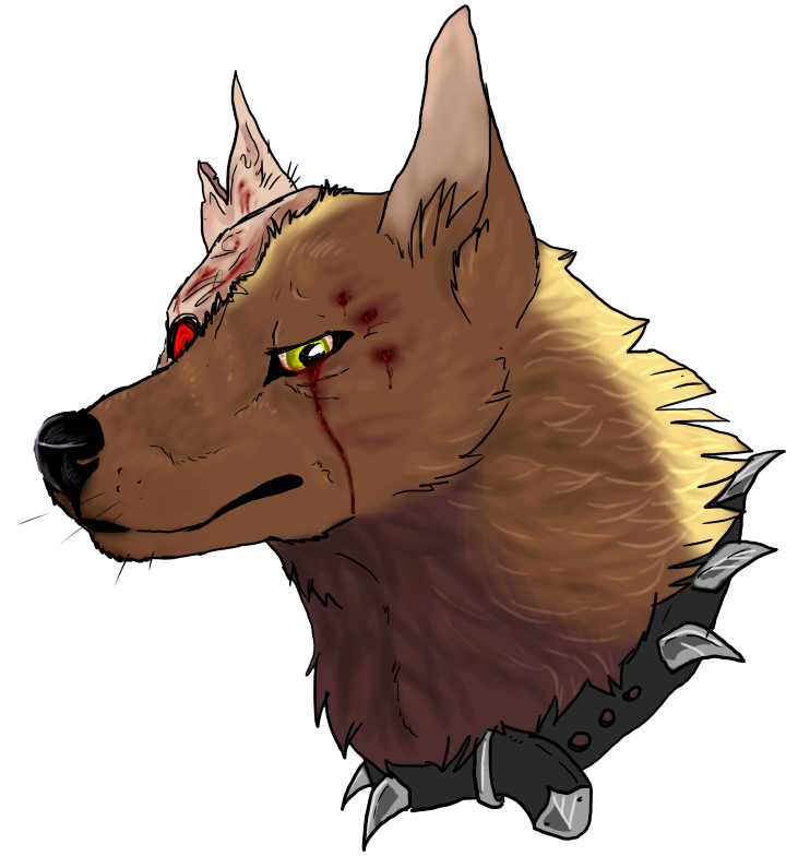 731x784 Angry Dog By Unpleasant Pheasant