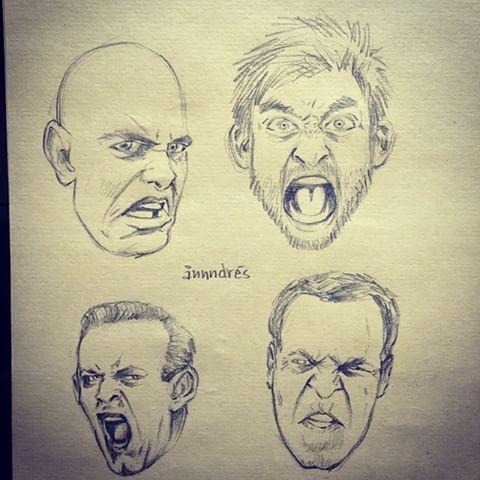 Draw an angry face tumblr 480x480 ã¥nnndres artofannndres instagram photos and videos