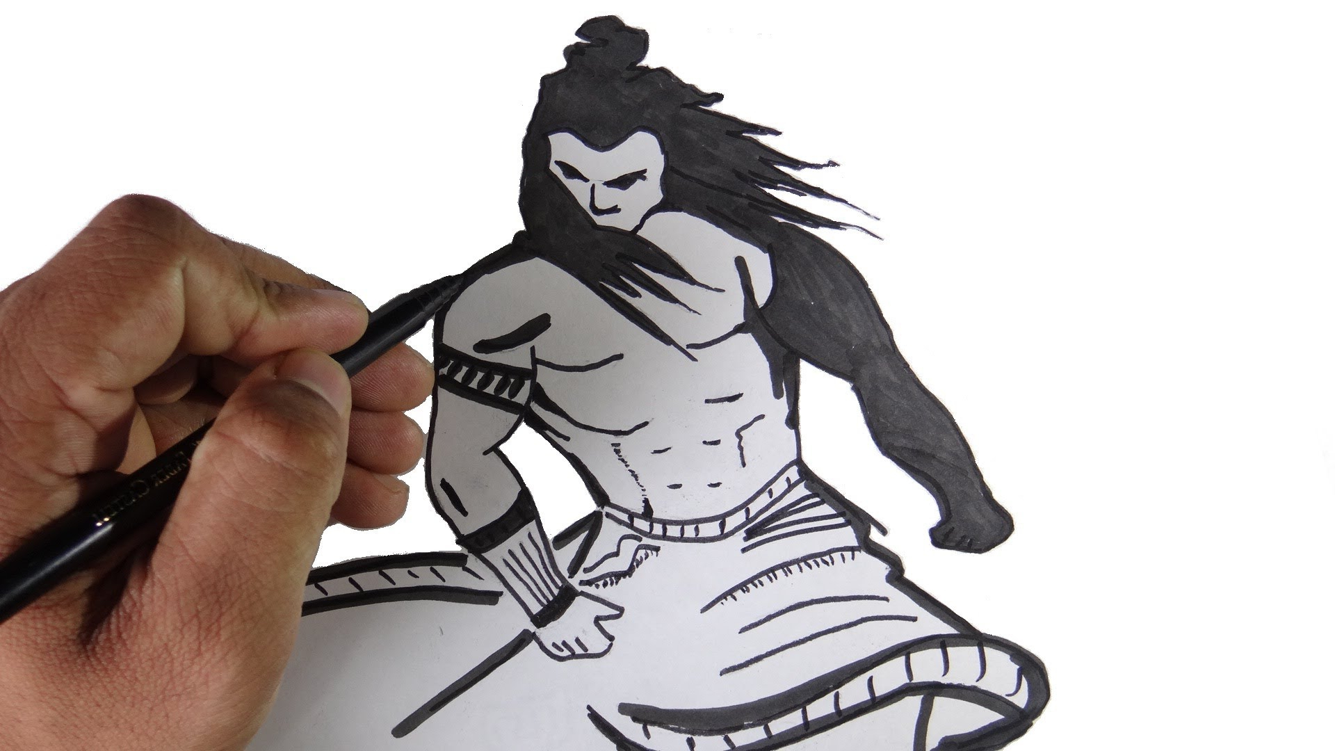 1920x1080 Angry Lord Shiva Face Sketch Lord Shiva Angry Sketch Lord Shiva