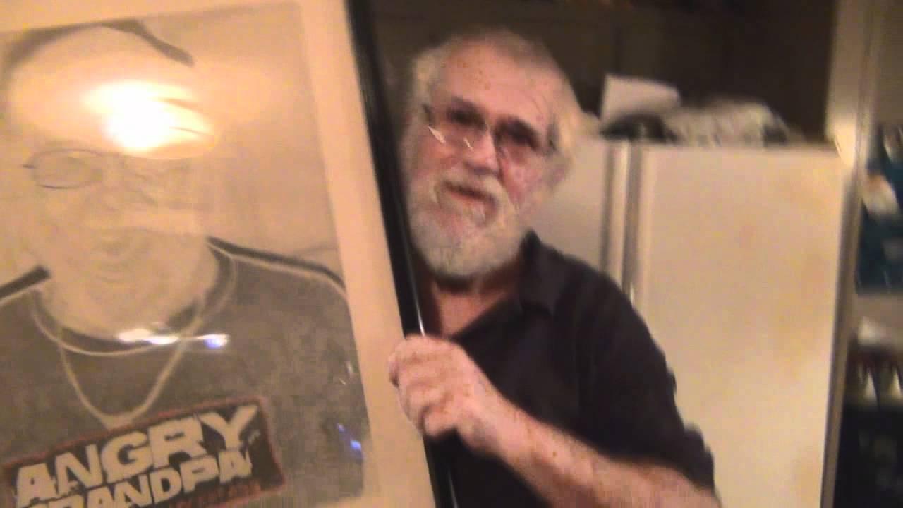 1280x720 Angry Grandpa Drawing
