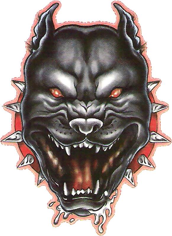 582x800 Angry Pitbull Stickers By Betsyparikh Redbubble