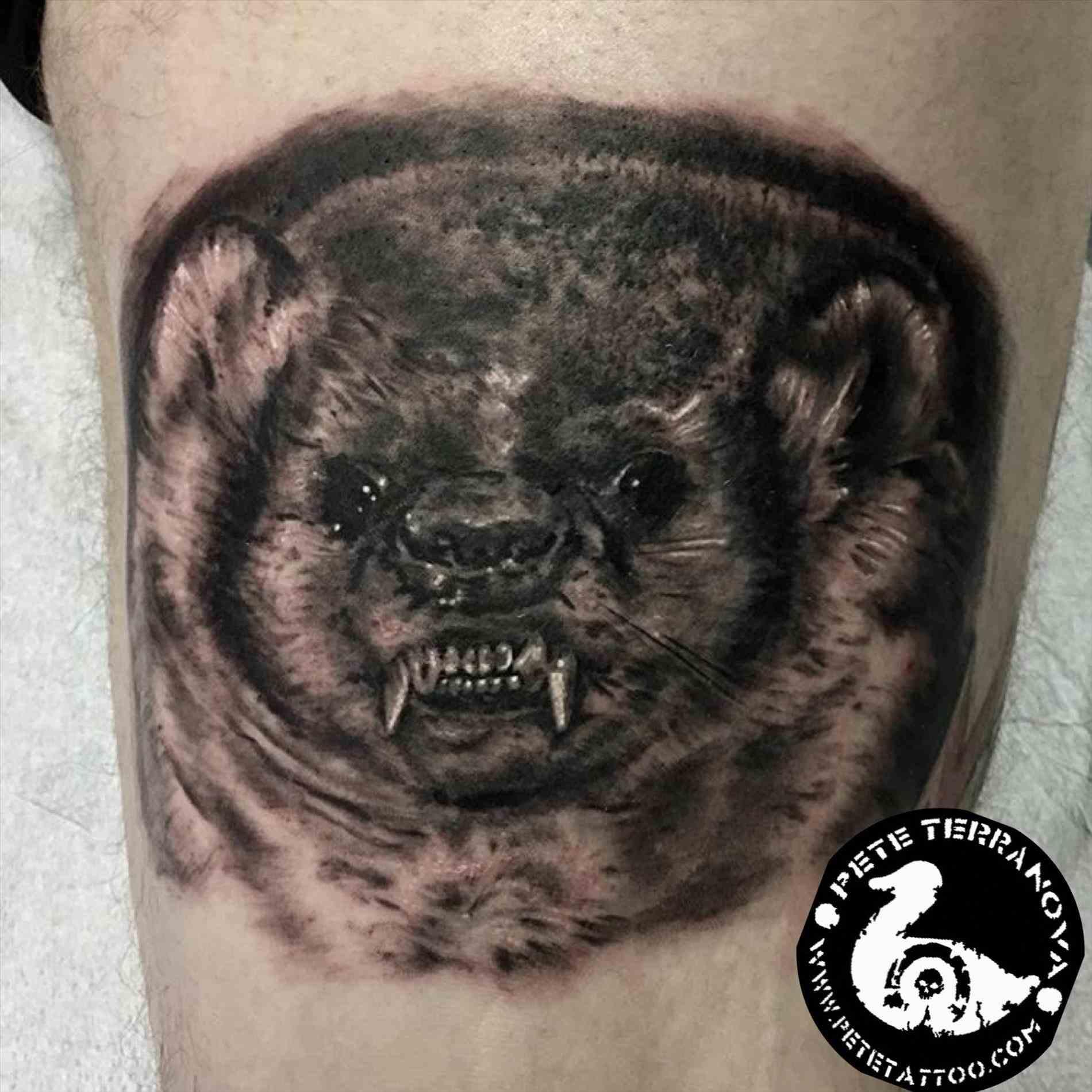 1900x1900 Angry Pitbull Tattoos Tattoo Ideas
