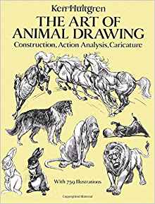 220x289 The Art Of Animal Drawing Construction, Action Analysis