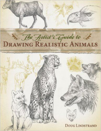 386x499 The Artist's Guide To Drawing Realistic Animals Doug Lindstrand