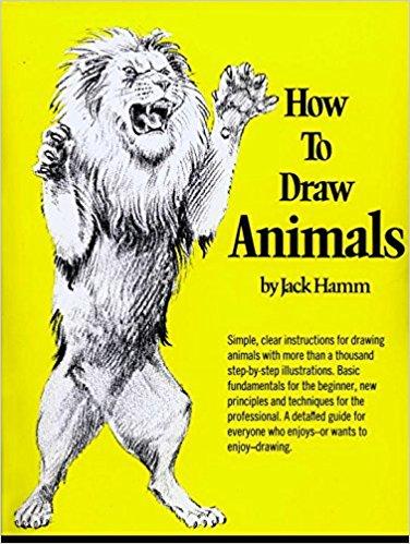 376x499 How To Draw Animals Perigee Jack Hamm 9780399508028 Amazon