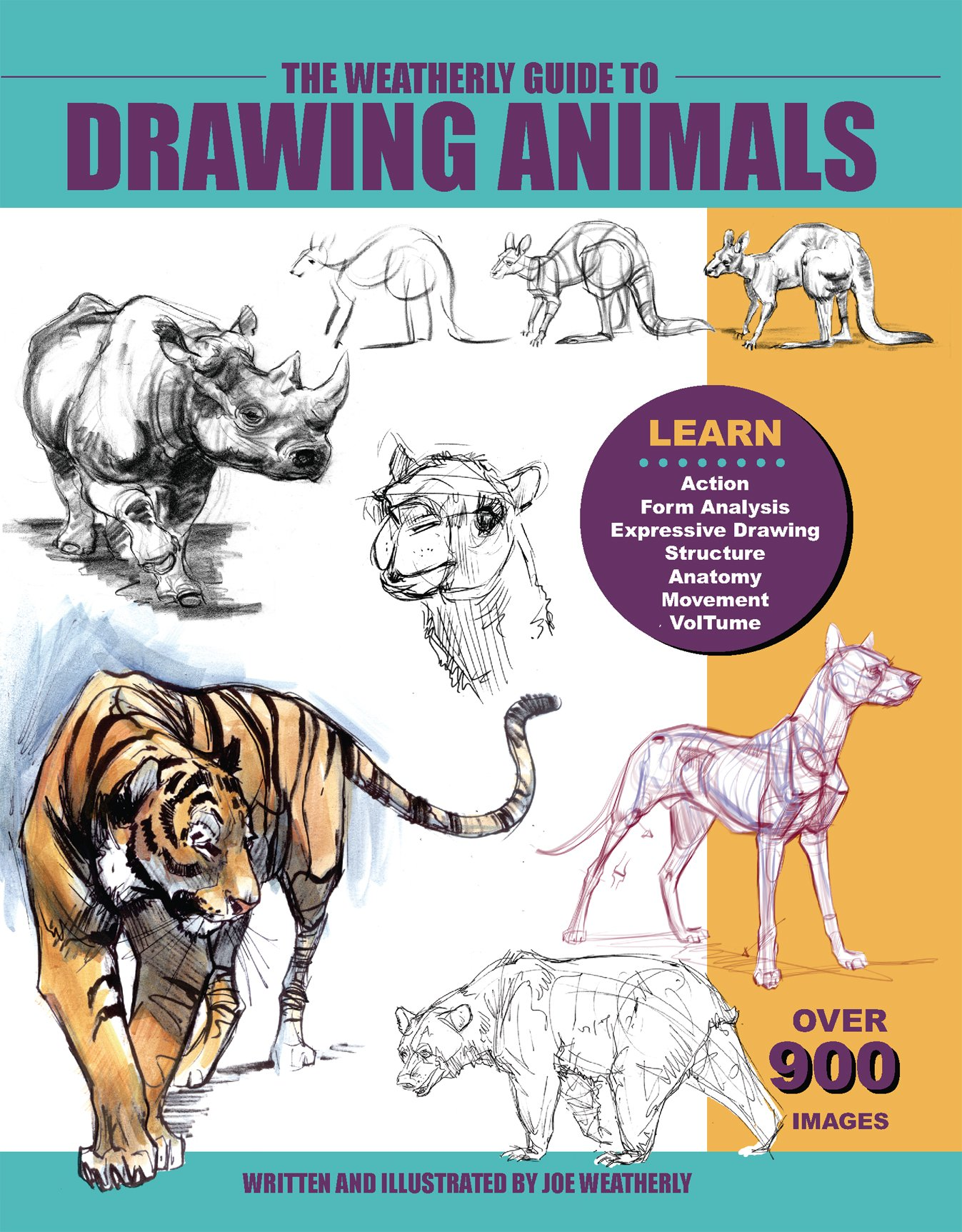 1347x1725 The Weatherly Guide To Drawing Animals Joe