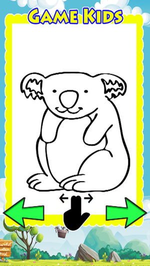 300x533 Animal Drawing Games Coloring Book Koala Bear On The App Store