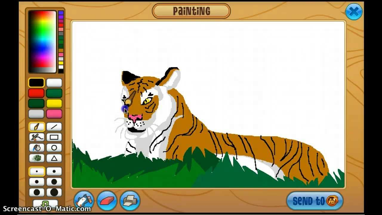 1280x720 Animal Jam Drawing!