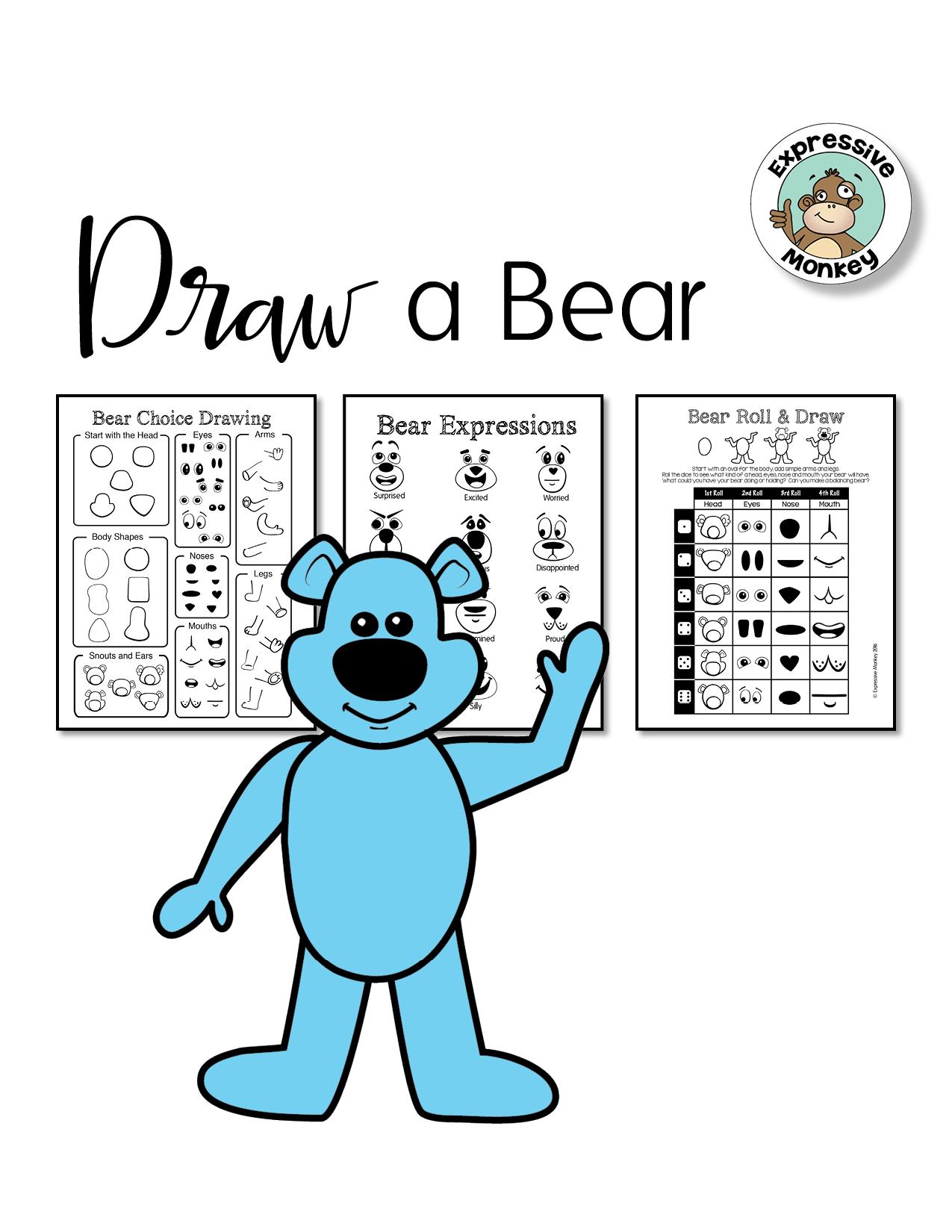 1275x1650 Bear Drawing Game Amp Bear Choice Drawing. Simple Drawing Ideas Help