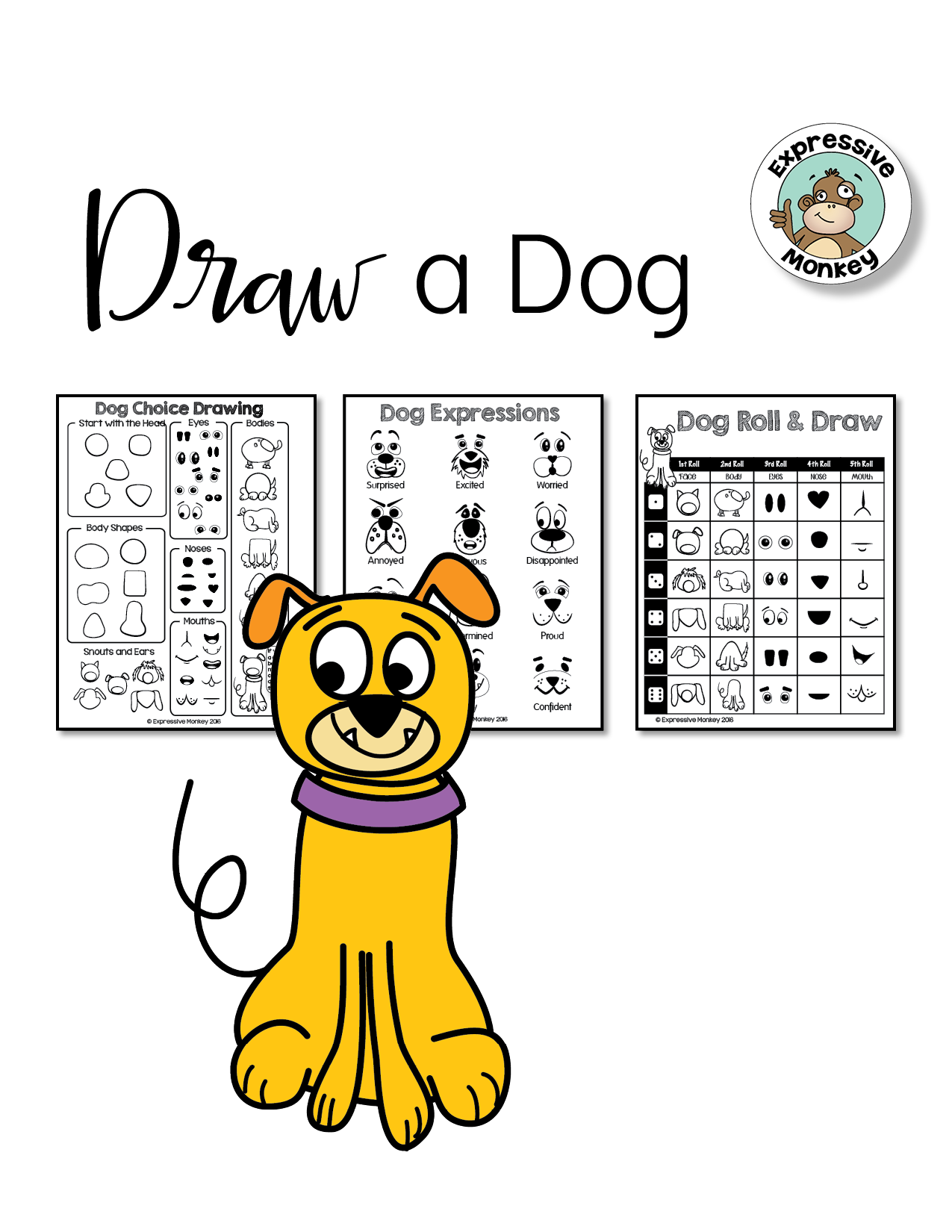 1275x1650 Drawing Animals With Expressions Teaching Ideas