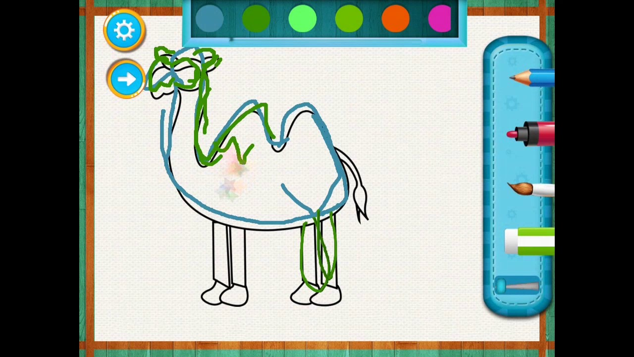 1280x720 Learn To Draw Animal For Kids
