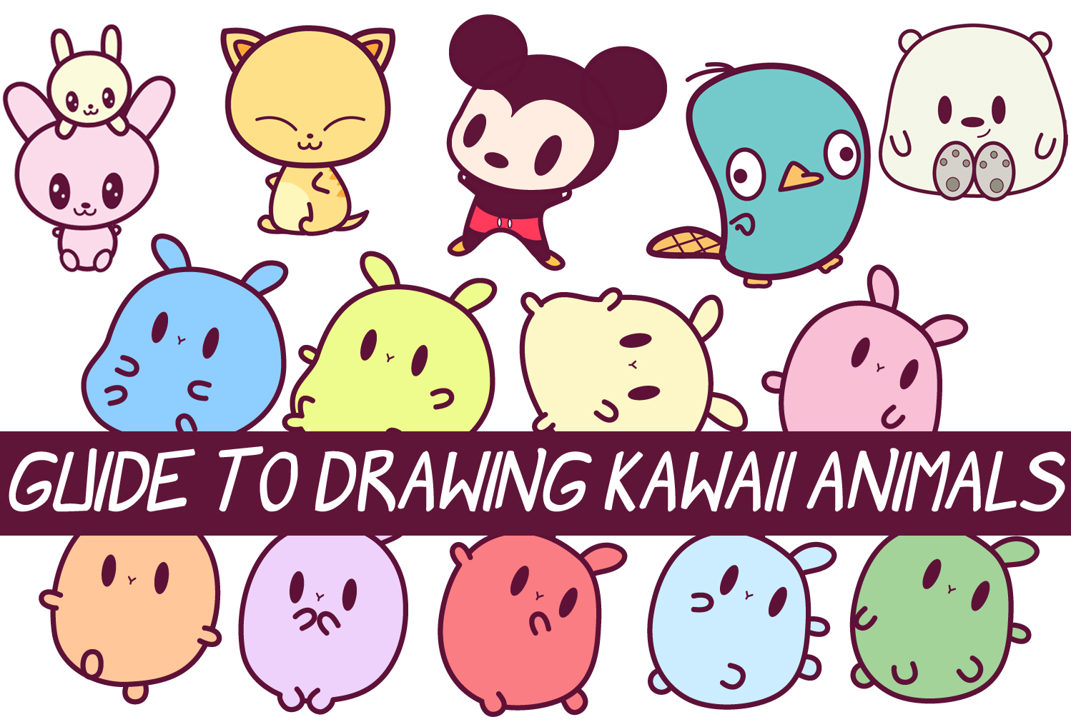 1498x1011 Easy Guide To Drawing Kawaii Characters Part 2 How To Draw