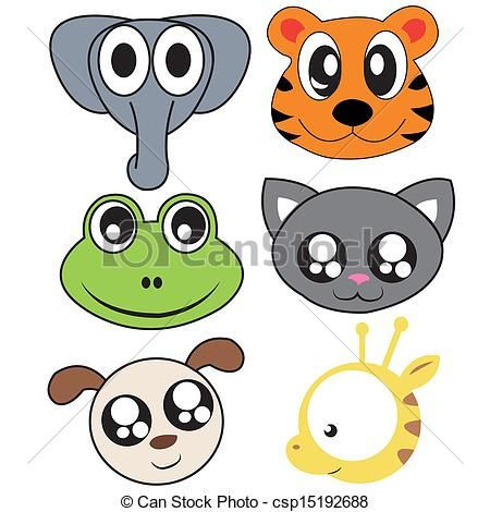 450x470 Animal Faces Clip Art Arzu Clip Art And Animal