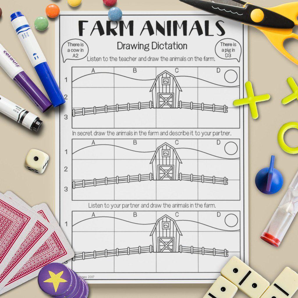 1024x1024 Esl Children's Farm Animal