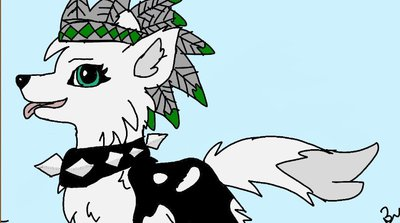 400x223 Animal Jam Artic Wolf Drawings By Musa70565