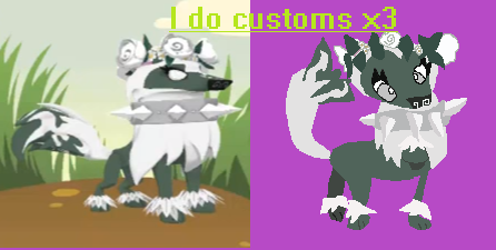 446x225 Animal Jam Arctic Wolf Look Drawing 2 By Bonnie Is Fnafvore