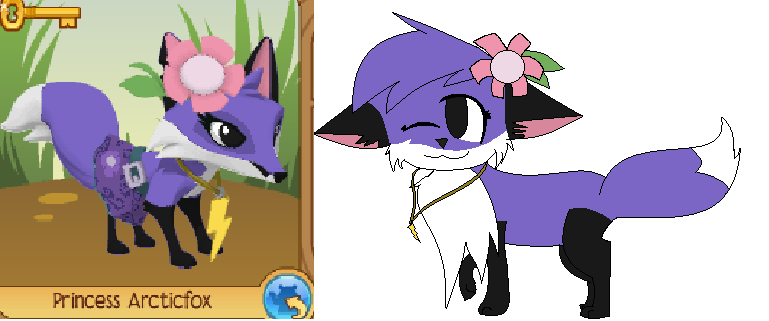 769x321 Drawing For Girls8991 (On Animal Jam =n=) By Chillybilly4