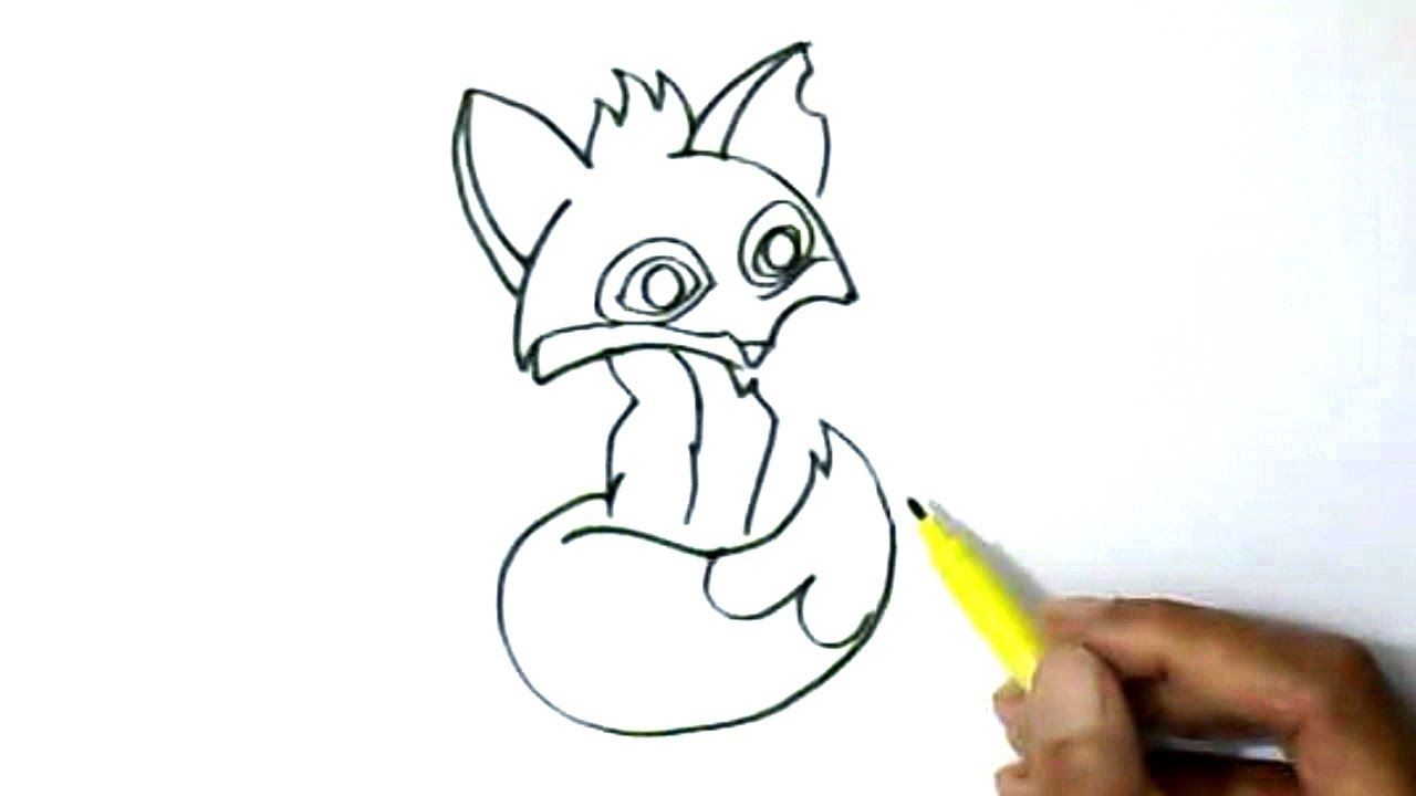 1280x720 How To Draw Animal Jam Fox In Easy Steps For Children, Kids