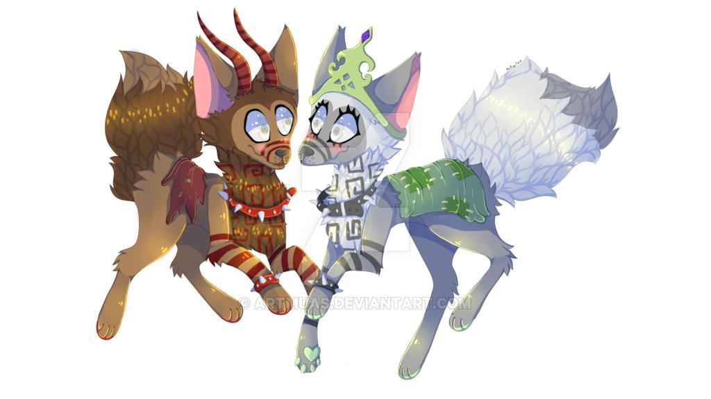 1024x575 Animal Jam Wolves By Artmuas