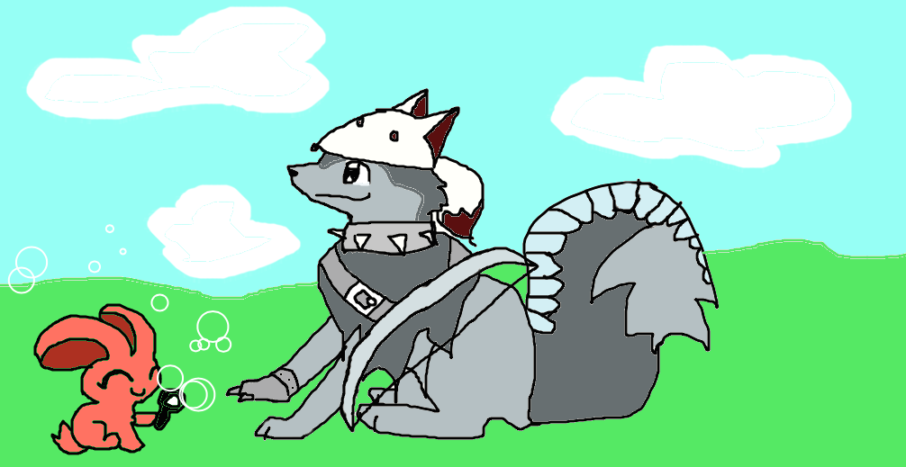 Animal Jam Wolf Drawing at GetDrawings.com | Free for personal use ...