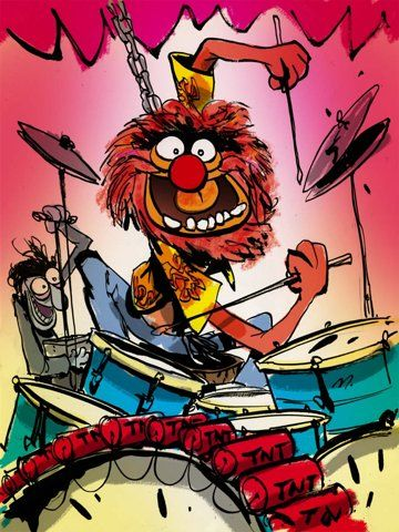 360x480 Animal Mi Muppet Favorito Des Animaux Drums