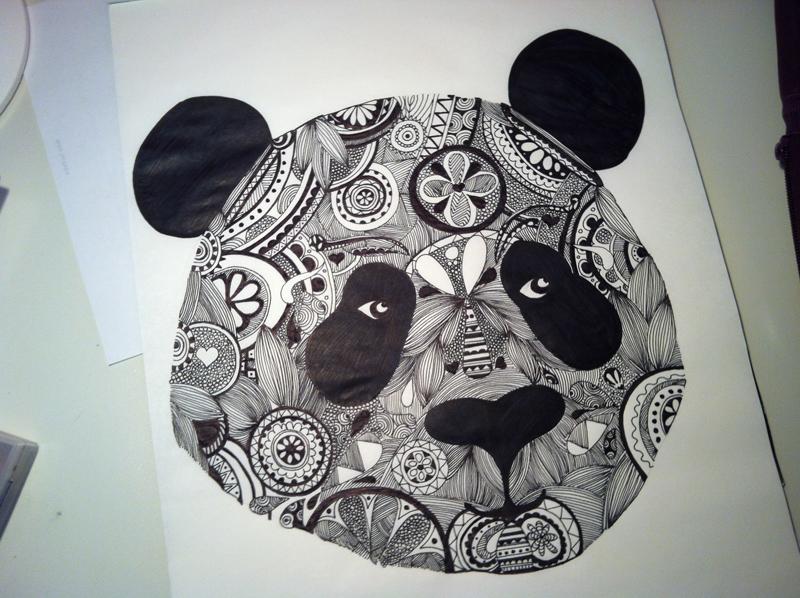 800x598 Aztec Panda On Behance