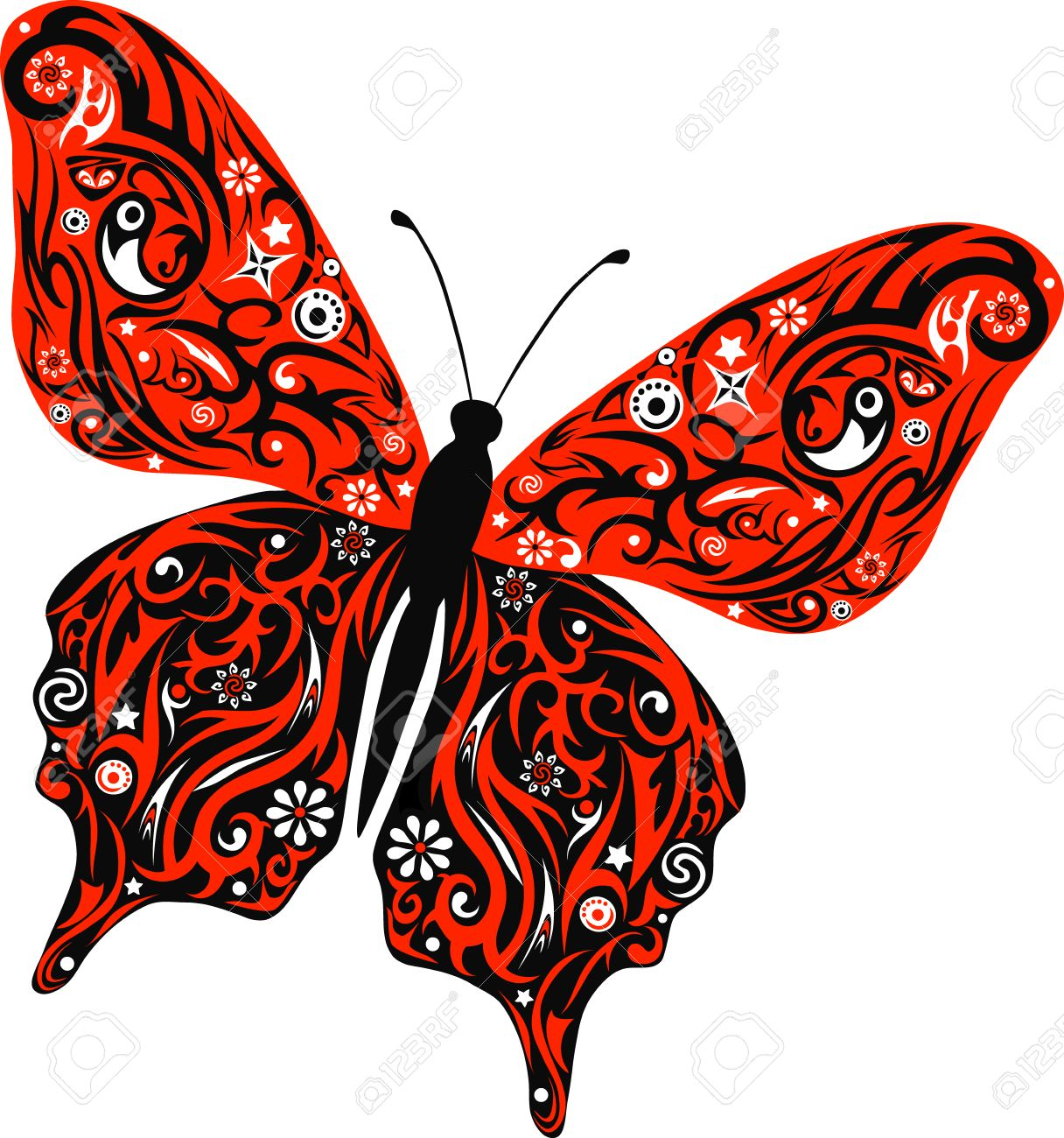 1216x1300 The Butterfly Flies, A Pattern On Wings, The Animal With Drawing