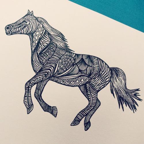 500x500 Animals Pen And Ink Patterns Art Pattern Design