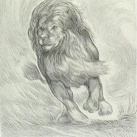 270x270 Animals Pencil Drawings Original Artwork For Sale