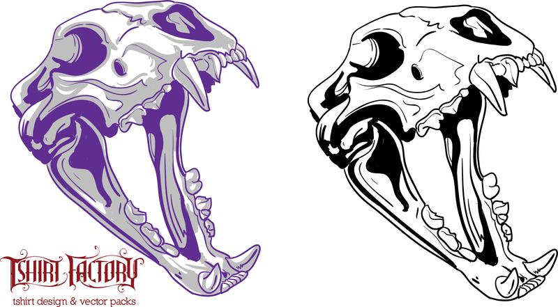 800x441 Animal Skull Drawing