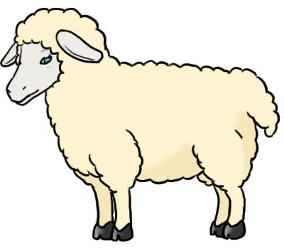 400x350 How To Draw A Sheep How To Draw International