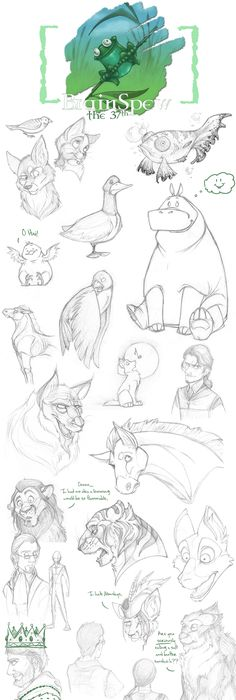 236x700 Tips For Drawing Cartoon Animals Character Design References