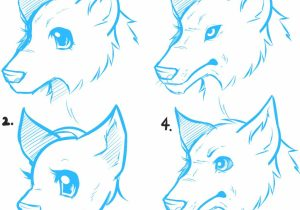 300x210 Drawings Of Anime Animals Animal Drawings Stepstep How To Draw