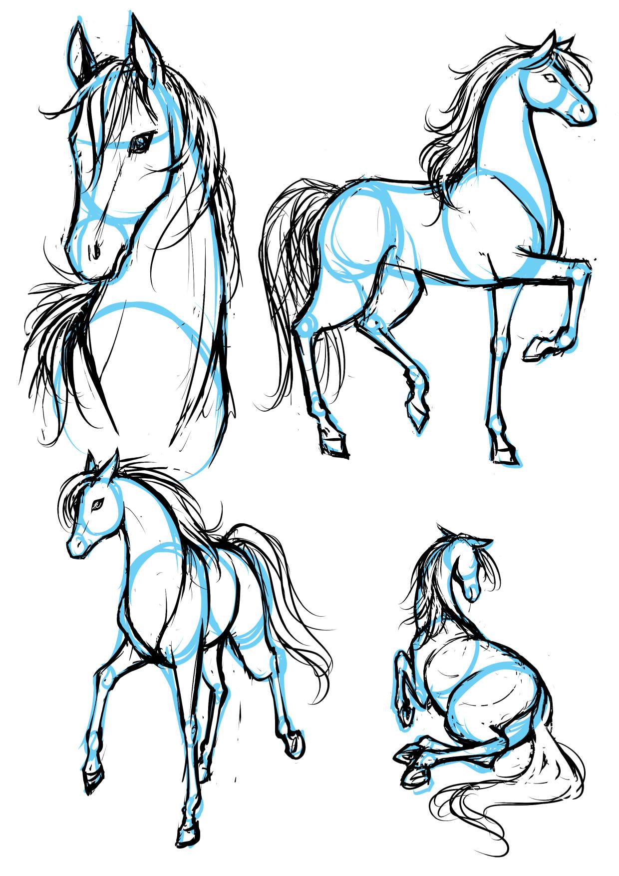 1240x1753 Love Animals Drawing