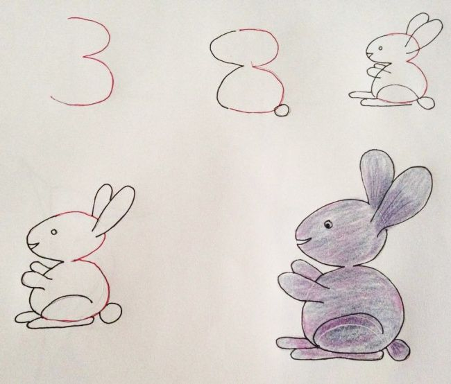 650x554 Teach Your Kids How To Draw Cute And Fun Animals Just By Using