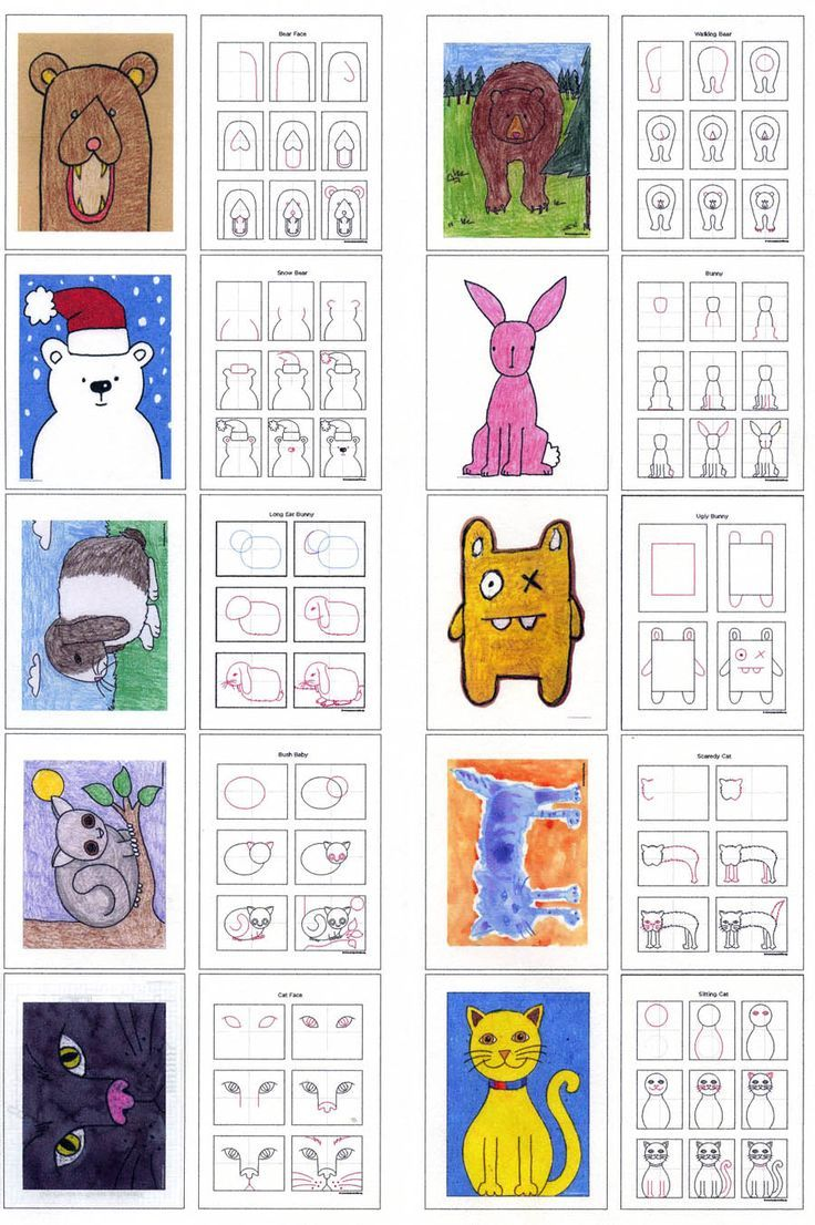 736x1106 Drawing Animals Ebook Draw Animals, Drawings And Simple Animal