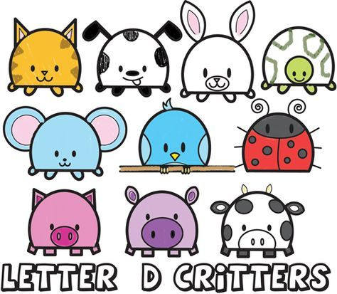 474x413 Huge Guide To Drawing Cartoon Animals From The Uppercase Letter D