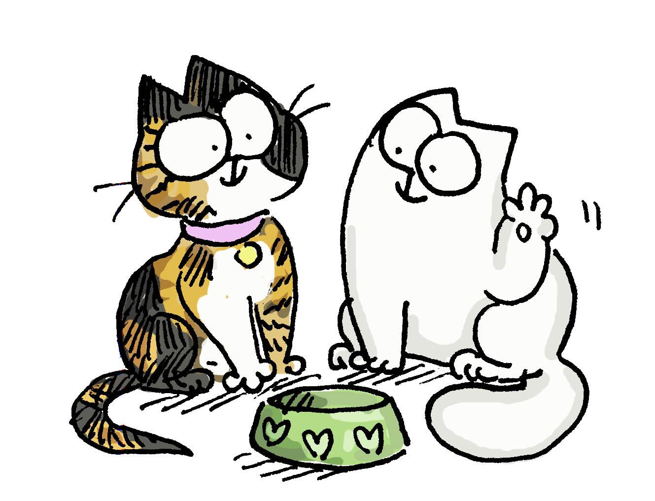 Simons Cat Date