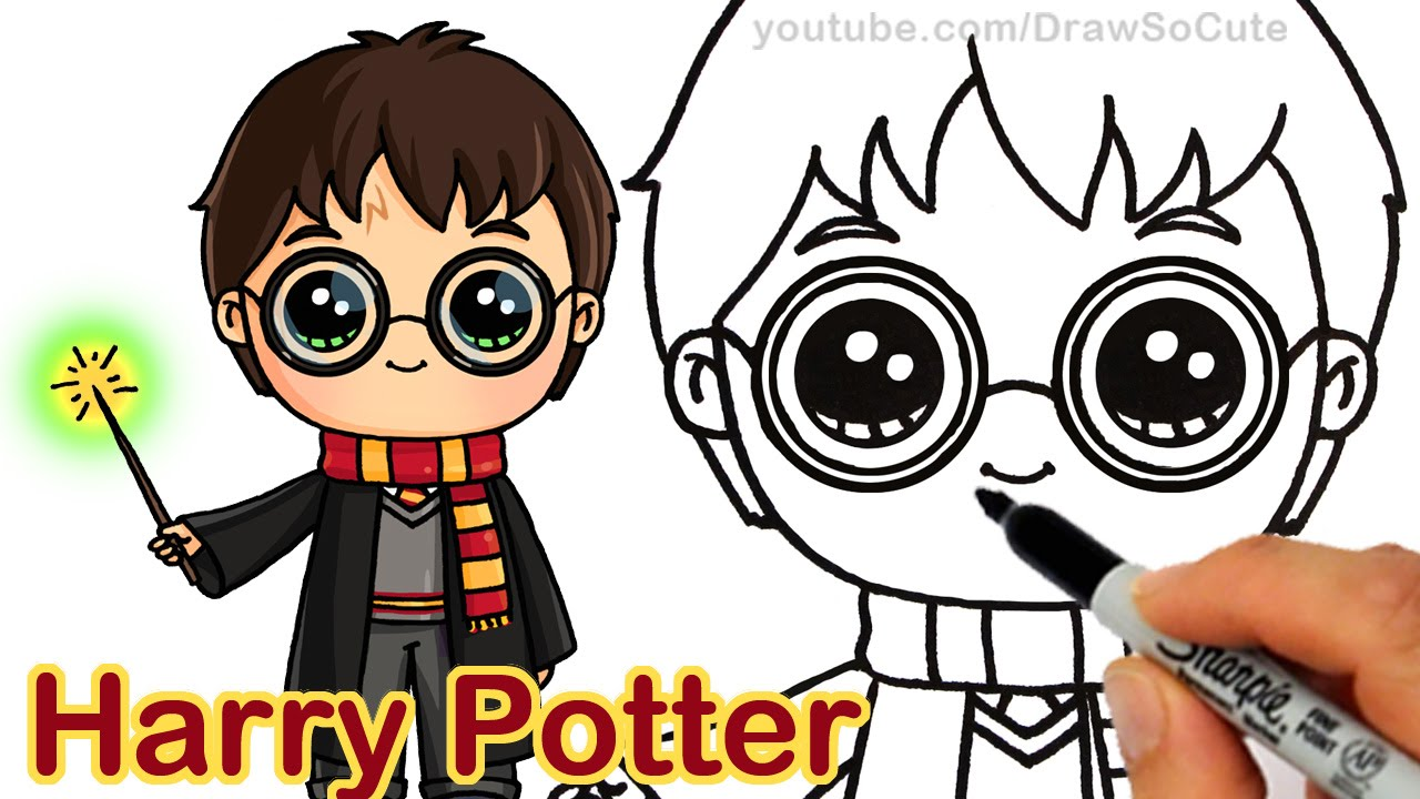 1280x720 How To Draw Harry Potter Easy Chibi