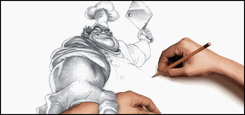504x238 Person Drawing Butcher Google Homepage