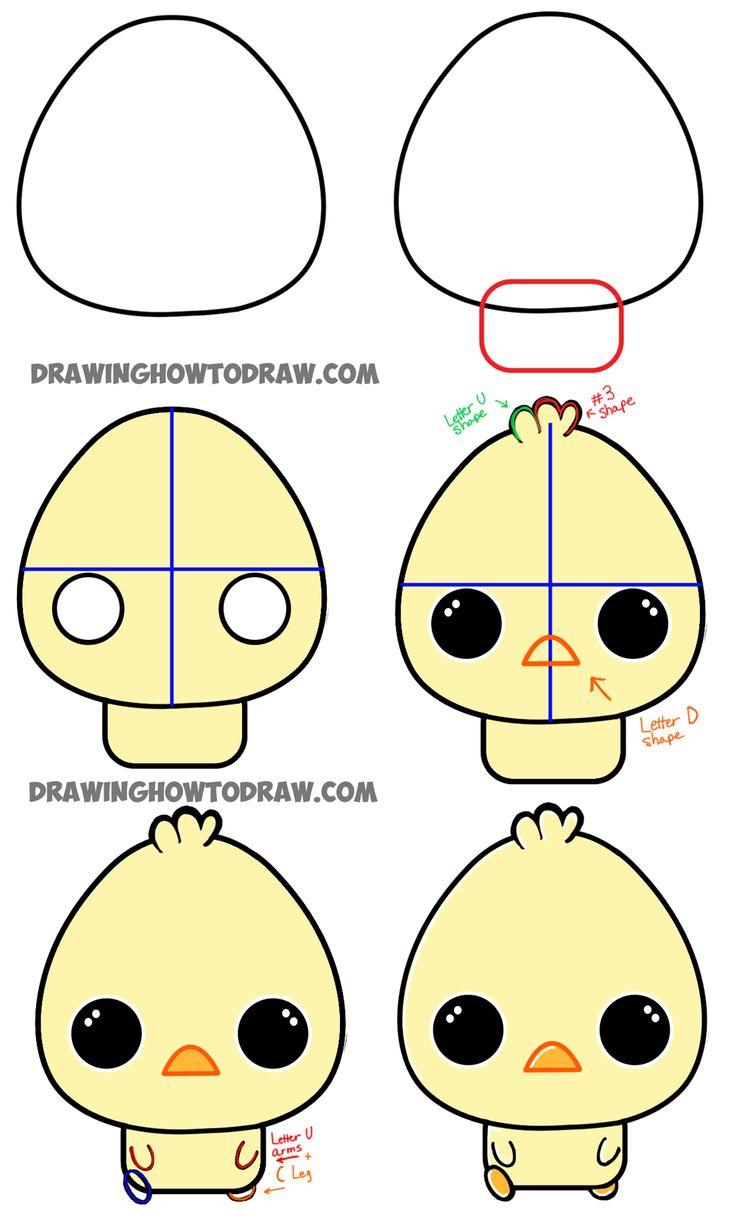 736x1226 Easy To Draw Anime Animals