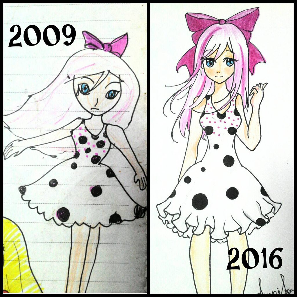 1024x1024 My Drawing Now And Then