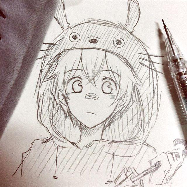 640x640 Totoro Oldartsulmao (No Es Yo Dibujo Regular Y Este Es Un