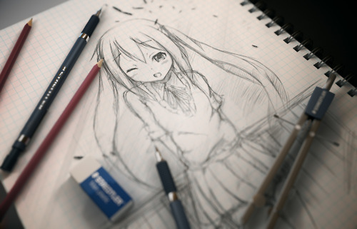 500x321 Anime Drawing By Iyaoilover