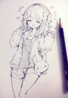 236x340 Nice Pencil Drawing Animemanga Mini Candy Canes