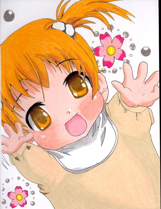 556x720 Anime Kawaii Baby Drawing