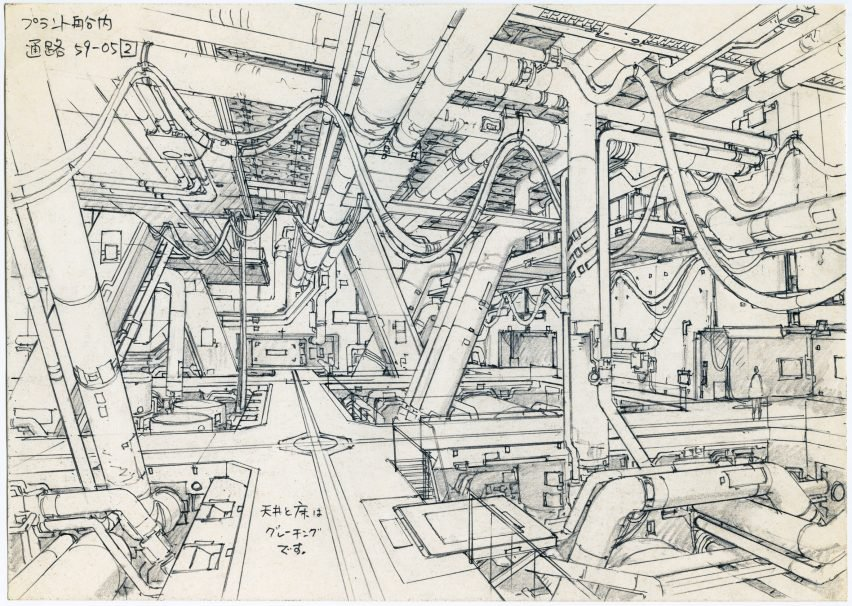 852x606 Anime Architecture Backgrounds Of Japan Exhibition