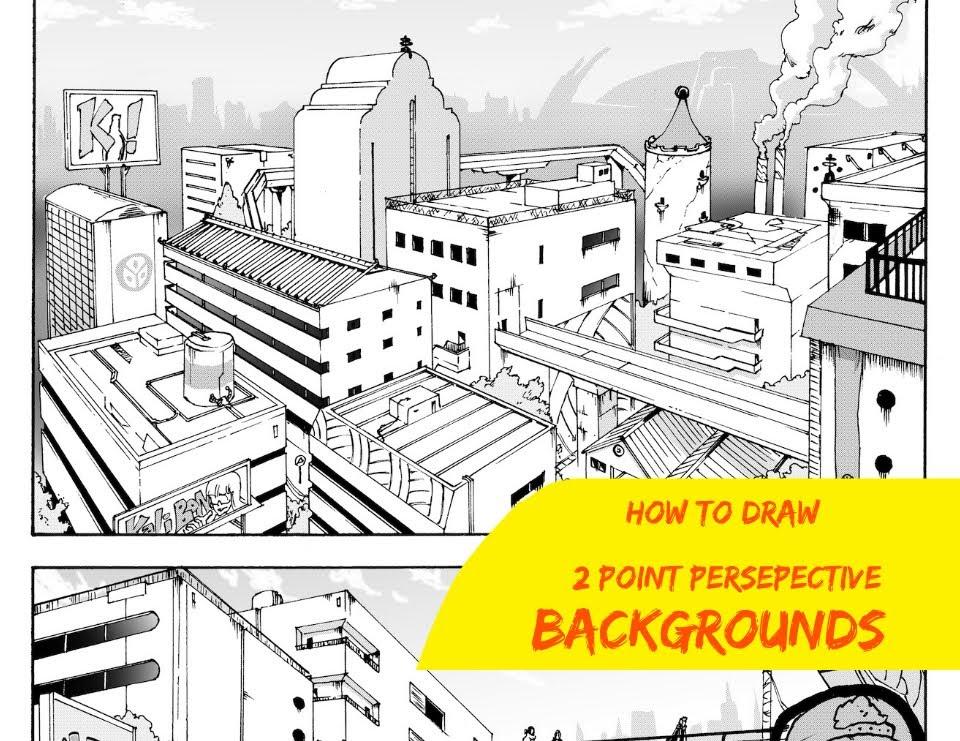 960x741 How To Draw Manga Backgrounds Shonen Ep 2