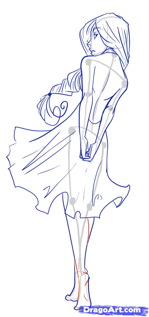 anime boy outline body: Anime Body Templates For Drawing At GetDrawings.com