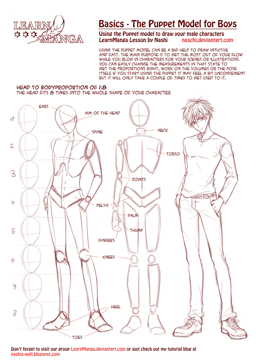 Anime Body Templates For Drawing At Getdrawings Com Free For